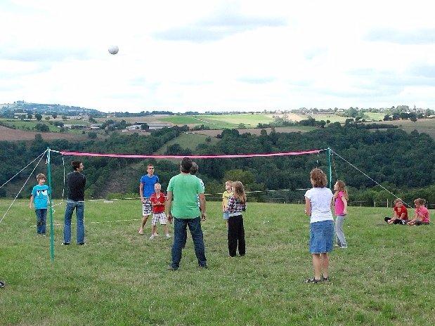camping Le Clapas volley-ball
