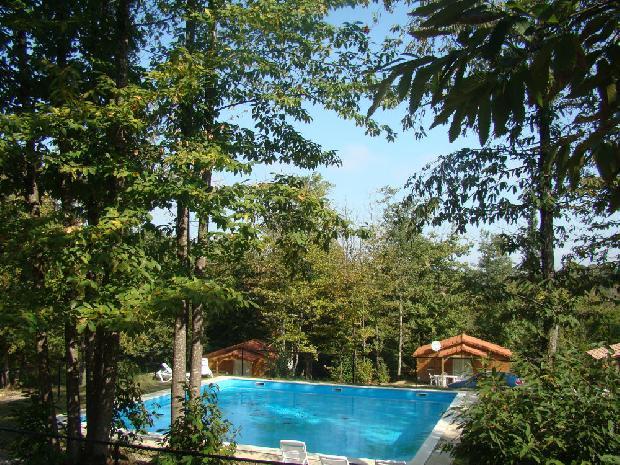 location chalet bois etang vallier resort brossac