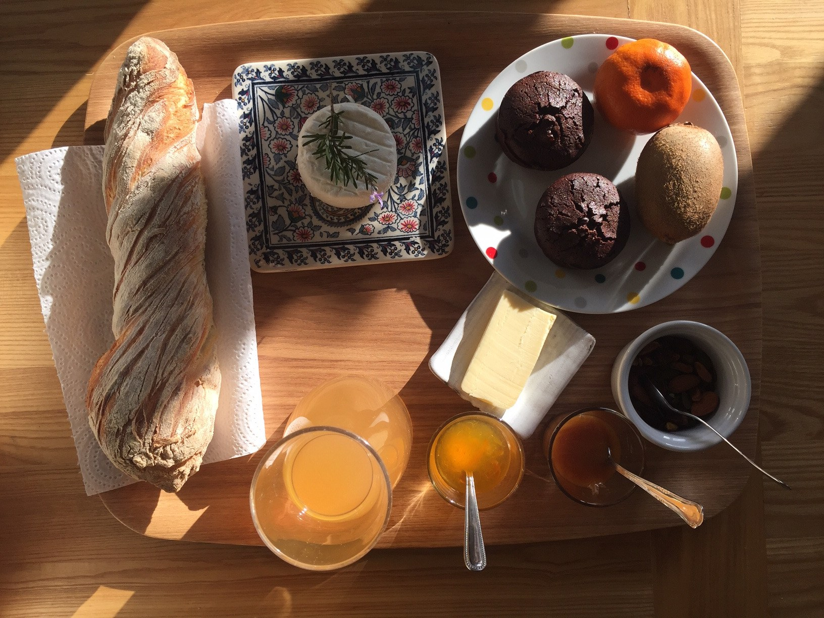 Panier petit-déjeuner les hauts d Issensac