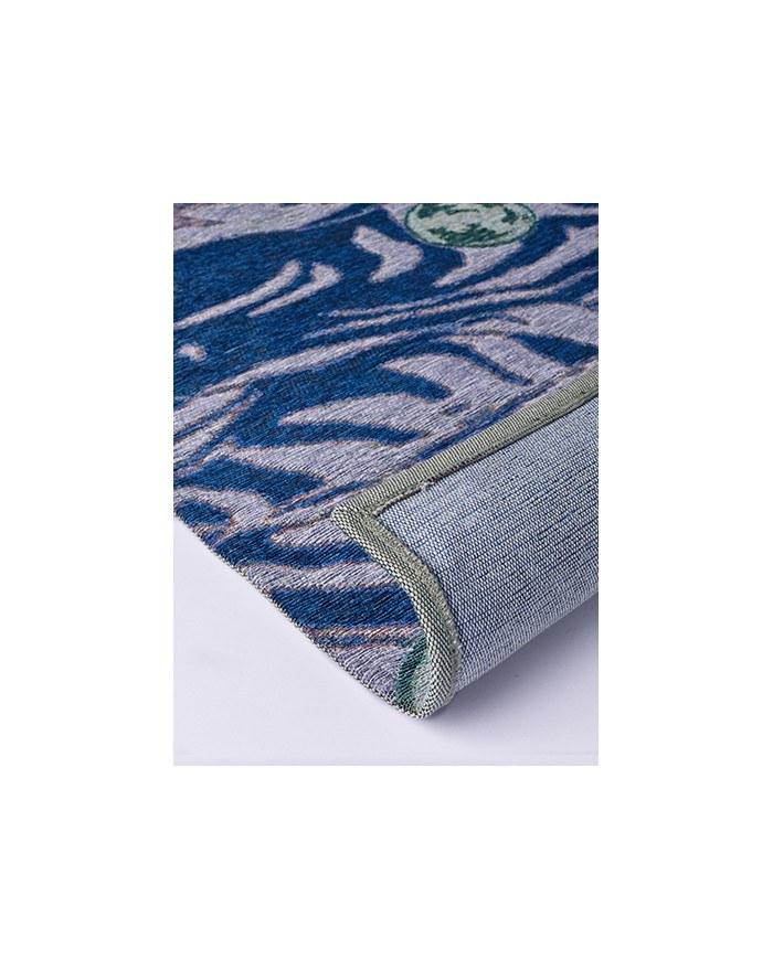 tapis déco bleu 2