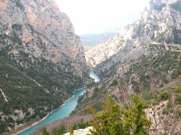 gorges du verdon - canyon - castellane
