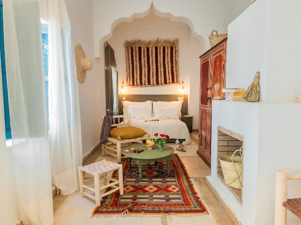 Double Or Twin Superior Room Double Or Twin Bed Of Riad Chamali