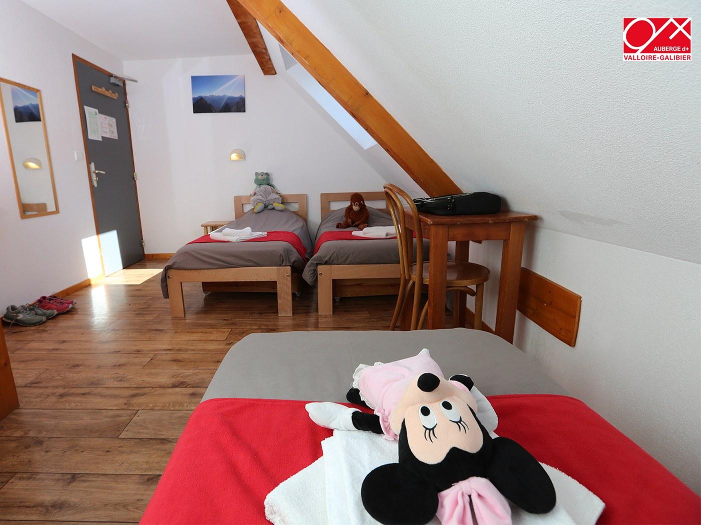chambre triple- Auberge - Valloire