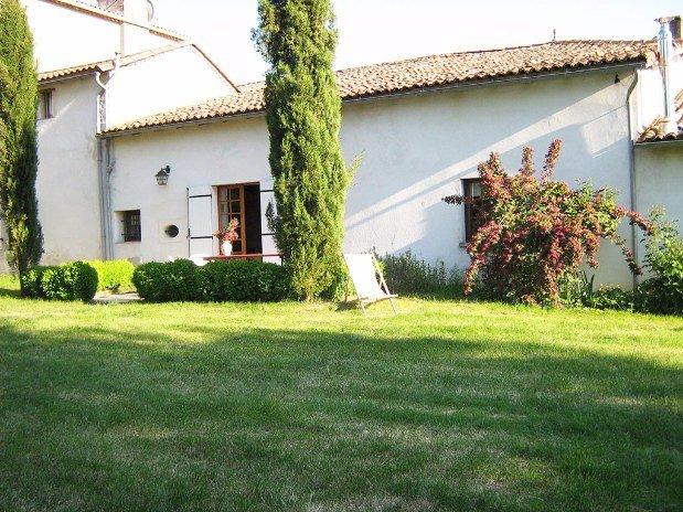 jardin du gite domaine les galards Charente Maritime