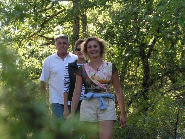 hiking south charente holiday nature brossac