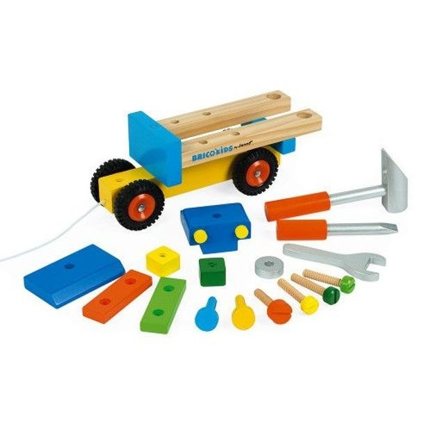 camion-de-bricolage-bois BRICOKIDS 2
