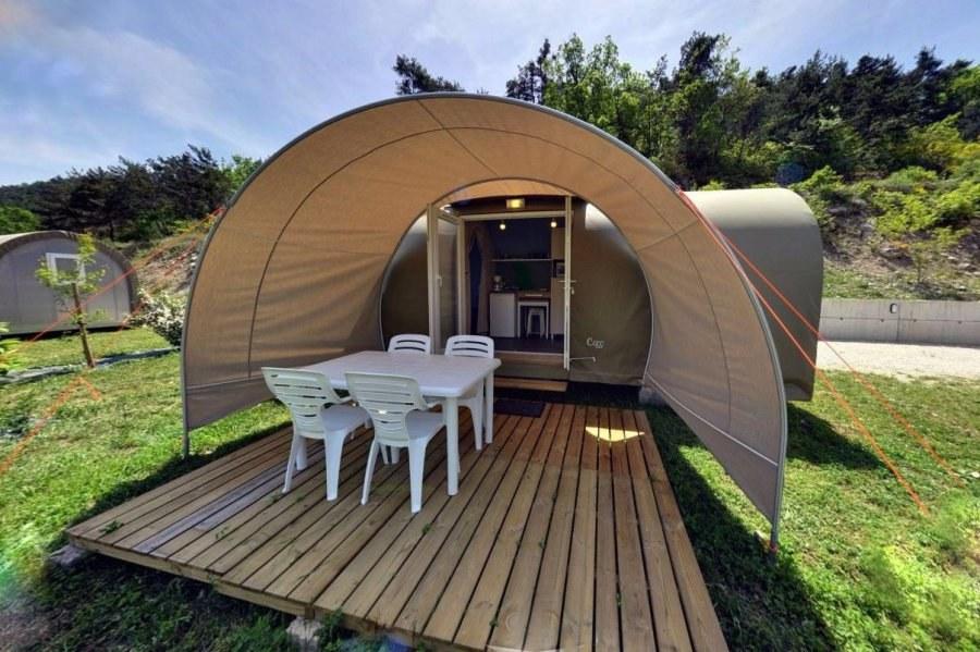 coco sweet camping Hautes-Alpes familial piscine escalade