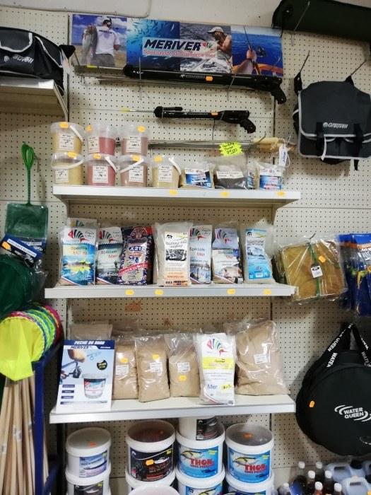 Trouvez tout le matériel de pêche Chez Panis Sébastien à Valras-Plage5