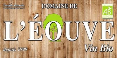logo Domaine de l'éouve vin bio côtes de provence et miels produits par la famille Ramella