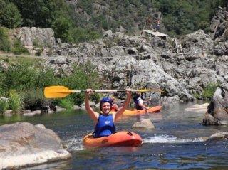 canoe Eyrieux Sport camping de retourtour 4 etoiles ardeche riviere piscine