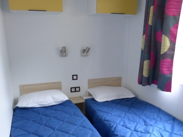 chambre double mobil-home