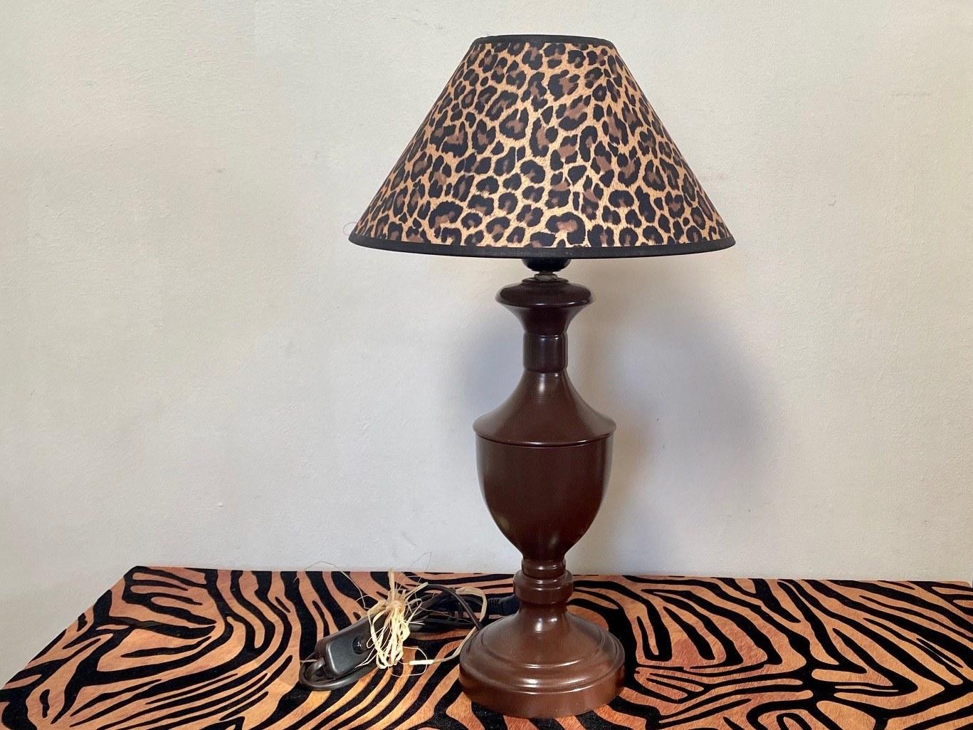 lampe léopard