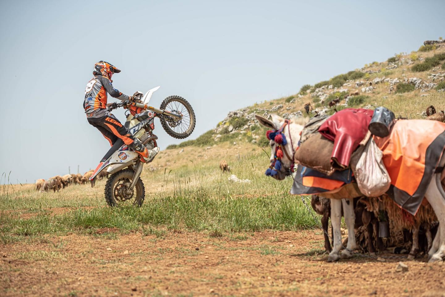 Romain Bouzigon benjamin Melot inside the athletes rally raid2