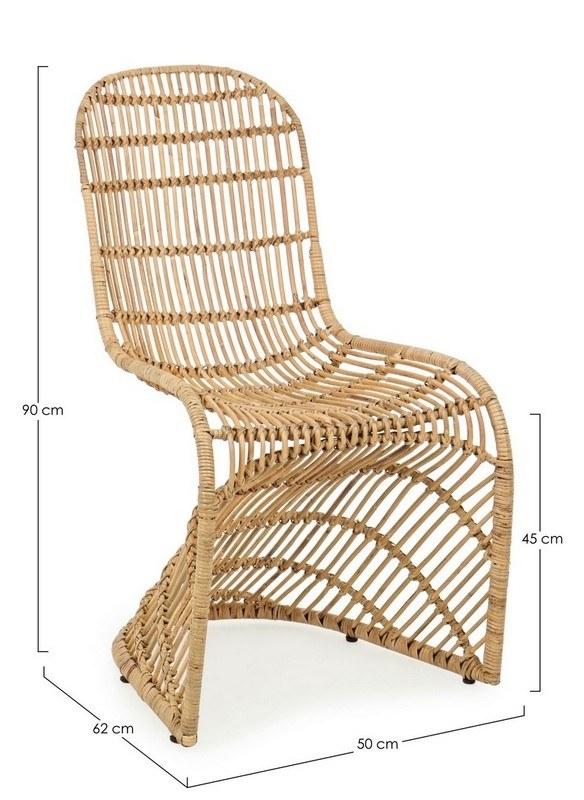chaise zelai rotin 1