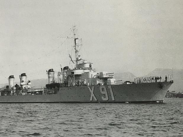 Contre torpilleur Maillé-Brézé
