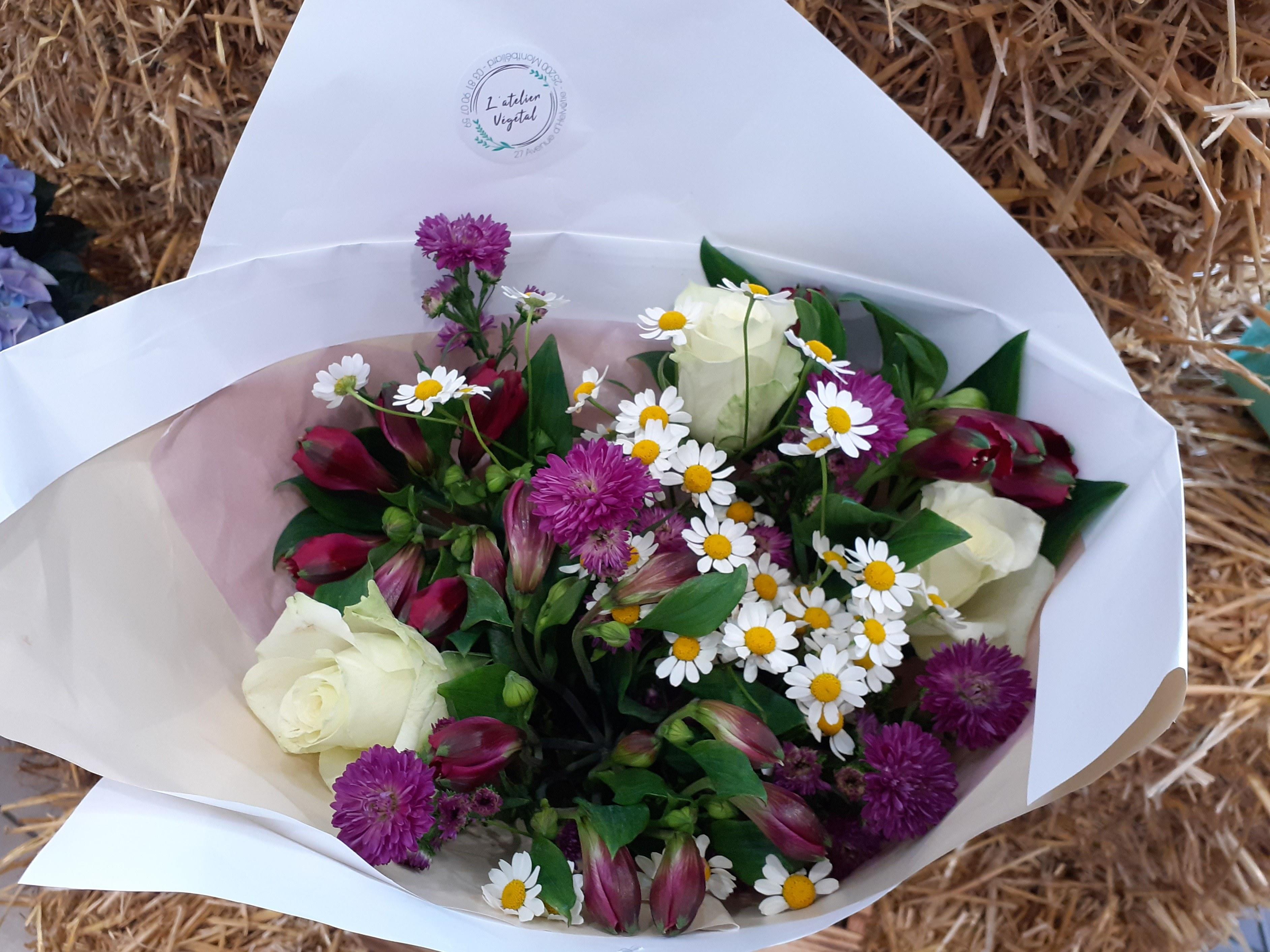 Bouquet de saison rose
