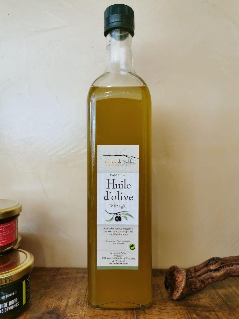 Huile d'olive de Nyons, 75 cl, Ventoux, livraison