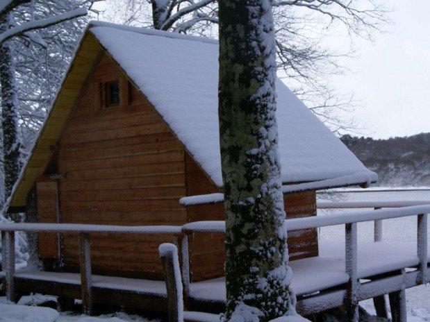 Cabane de l'Engoulevent neige