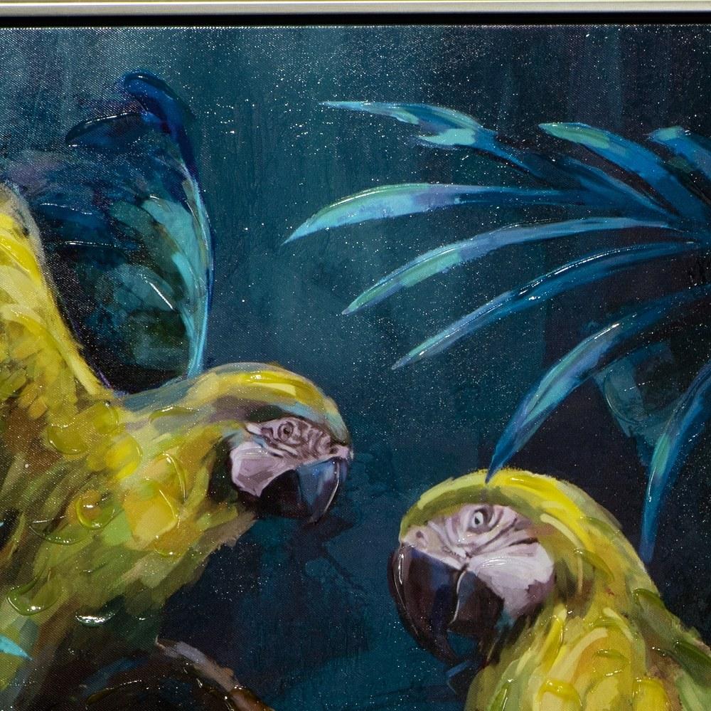 tableau perroquet 2
