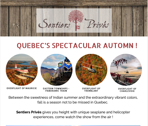Quebec Spectacular autumn