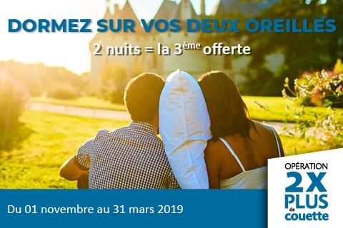 2XPlus de couette à la Ferme de la Maugerie près du château de Chambord