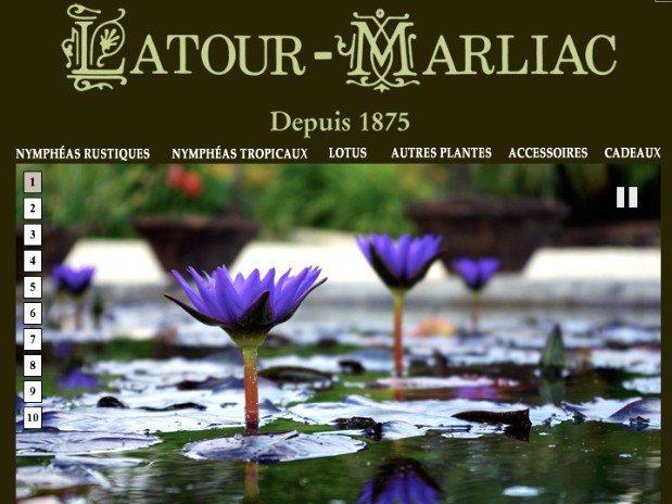 les jardins de la tour marliac - dordogne - perigord