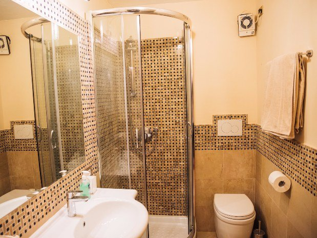 Bagno Appartamento Rifugio di Ercole Castello Santa Margherita