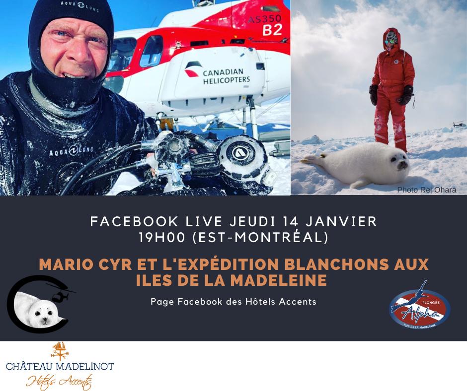 Mario Cyr_Facebook Live Jeudi 14 janvier 2021