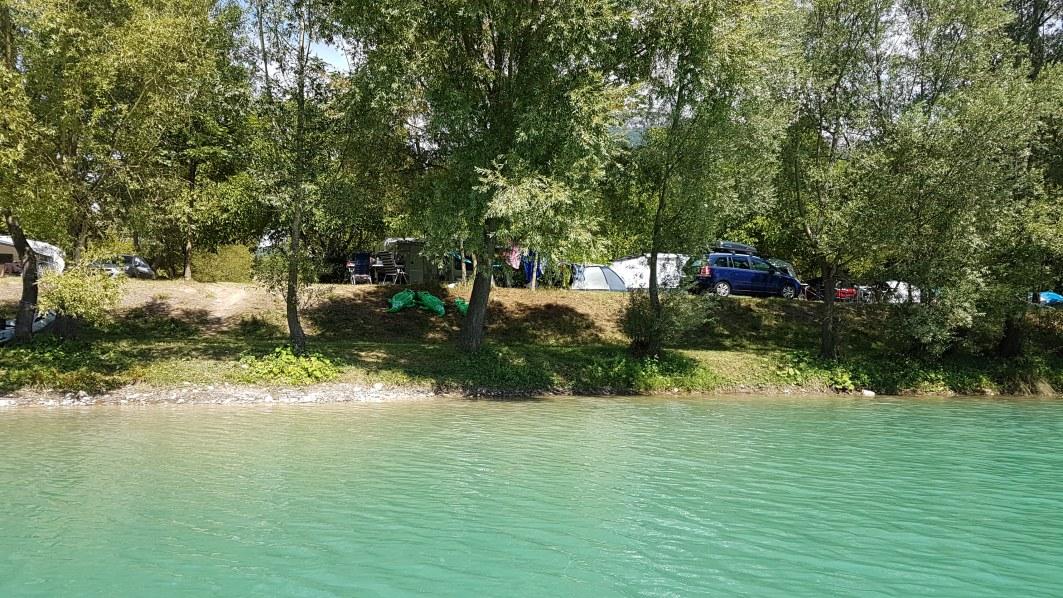 emplacements bords de lac camping vercors drome piscine chauffée lac
