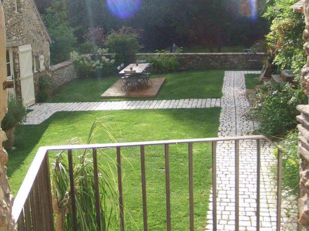 chambres d'hôtes-garnet-eure et loire-le pressoir-terrasse
