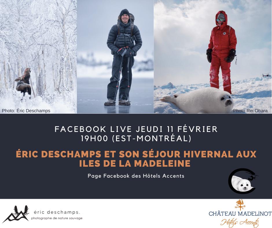 Éric Deschamps_Facebook Live Jeudi 11 février 2021
