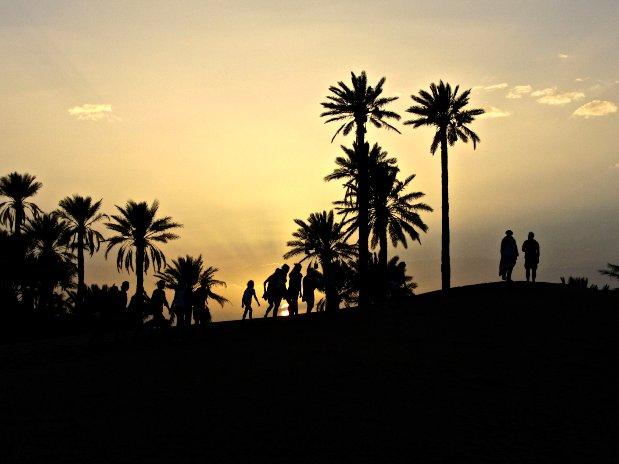 Yoga desert
