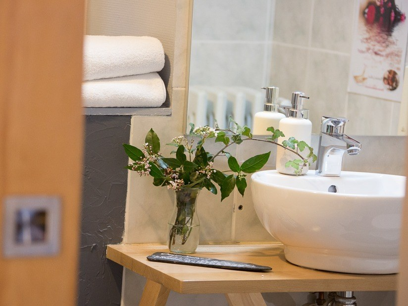 salle de bain- détail