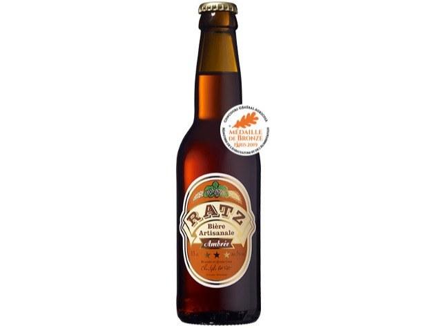 Merveilles et Cie Bière Ratz ambrée