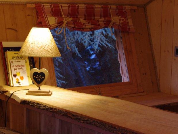 détail interieur cabanes dans les arbres