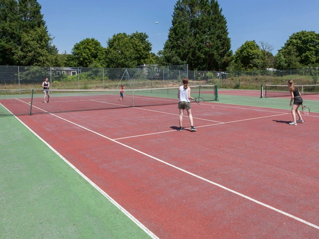 tennis camping chambon