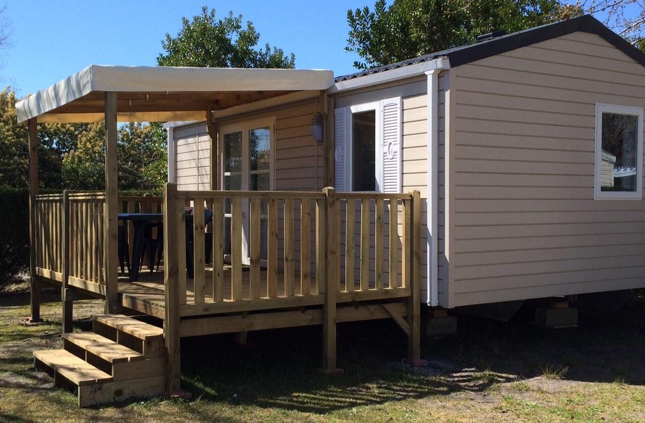 Location de mobil home camping les arbousiers