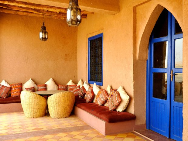 Balcon Hotel Kanz Erremal Maroc