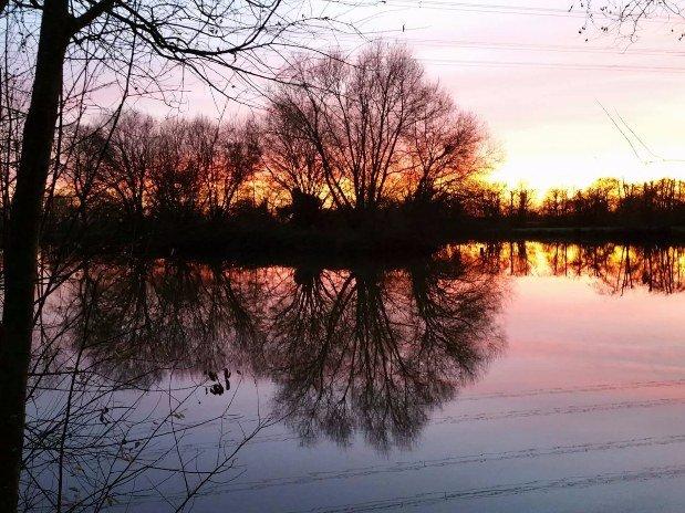 Deux étangs
