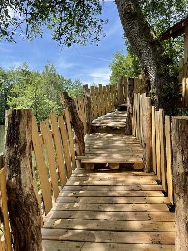 escalier cabane hérons site web