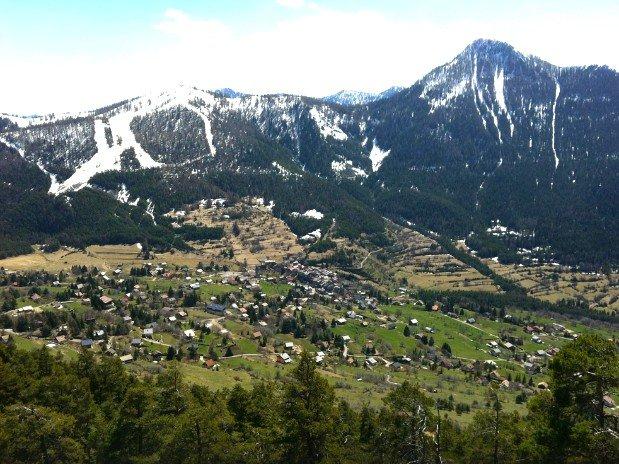 montagnes - randonnées - auberge des mures - mercantour - ski