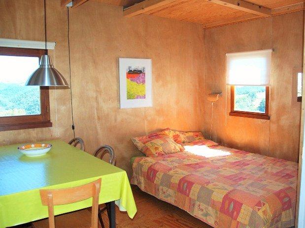 camping Le Clapas chalet Sahara