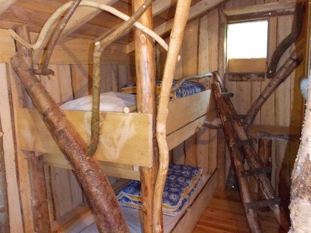 Chambre enfants cabane vosgienne