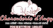 logo Charcuterie d'augy dans l'yonne service boucherie, épicerie fine et traiteur