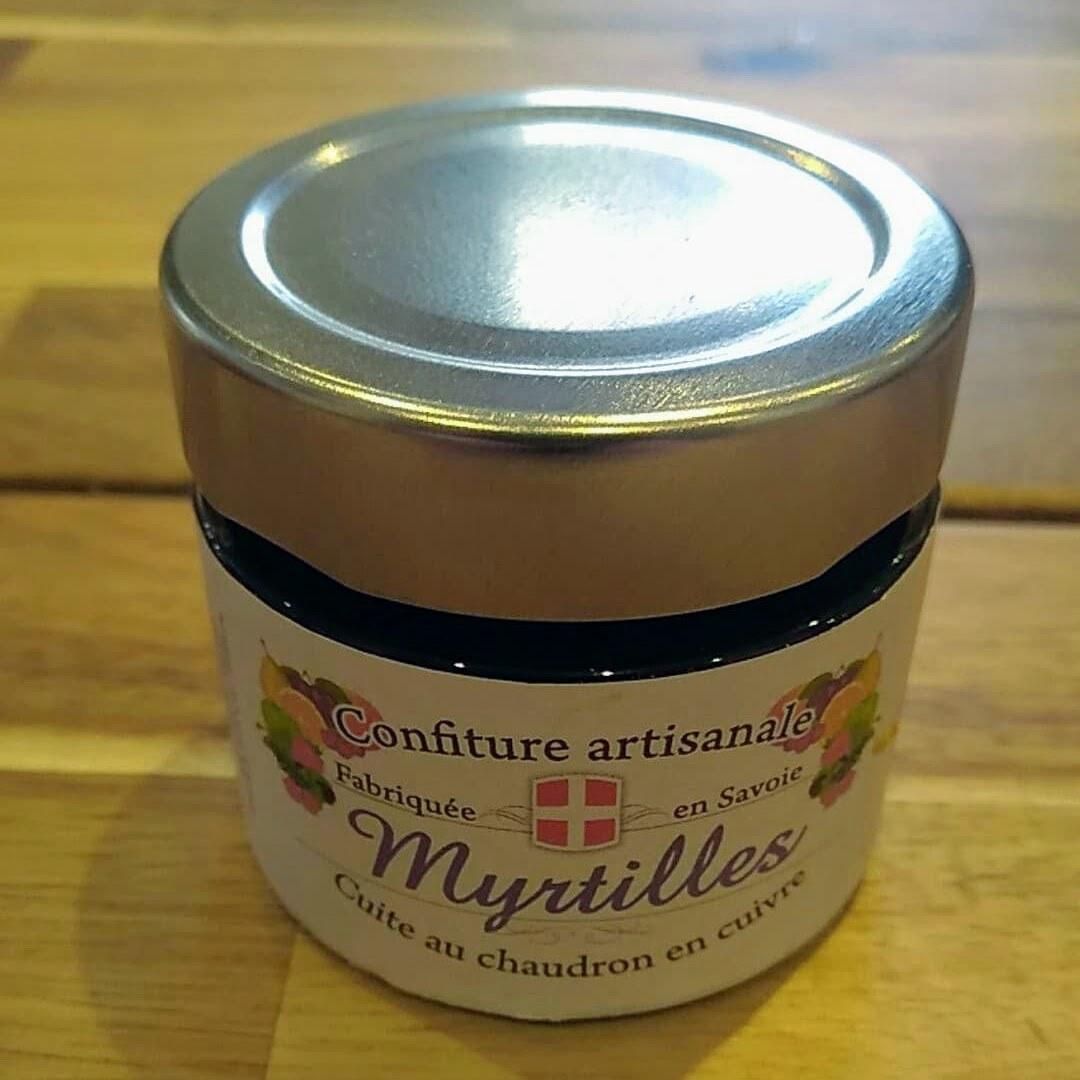 Confiture artisanale Myrtilles