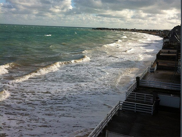 plage marée