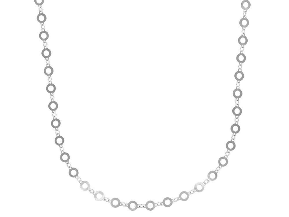 manjo collier-avec-des-petits-cercles-ajoures-en-argent-3-31710200