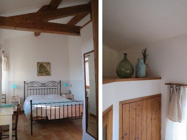 Détails chambre Buèges Issensac