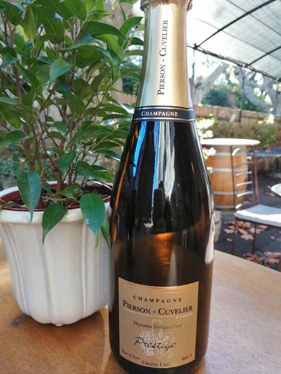 15.Champagne Pierson Cuvelier. Cuvée Prestige