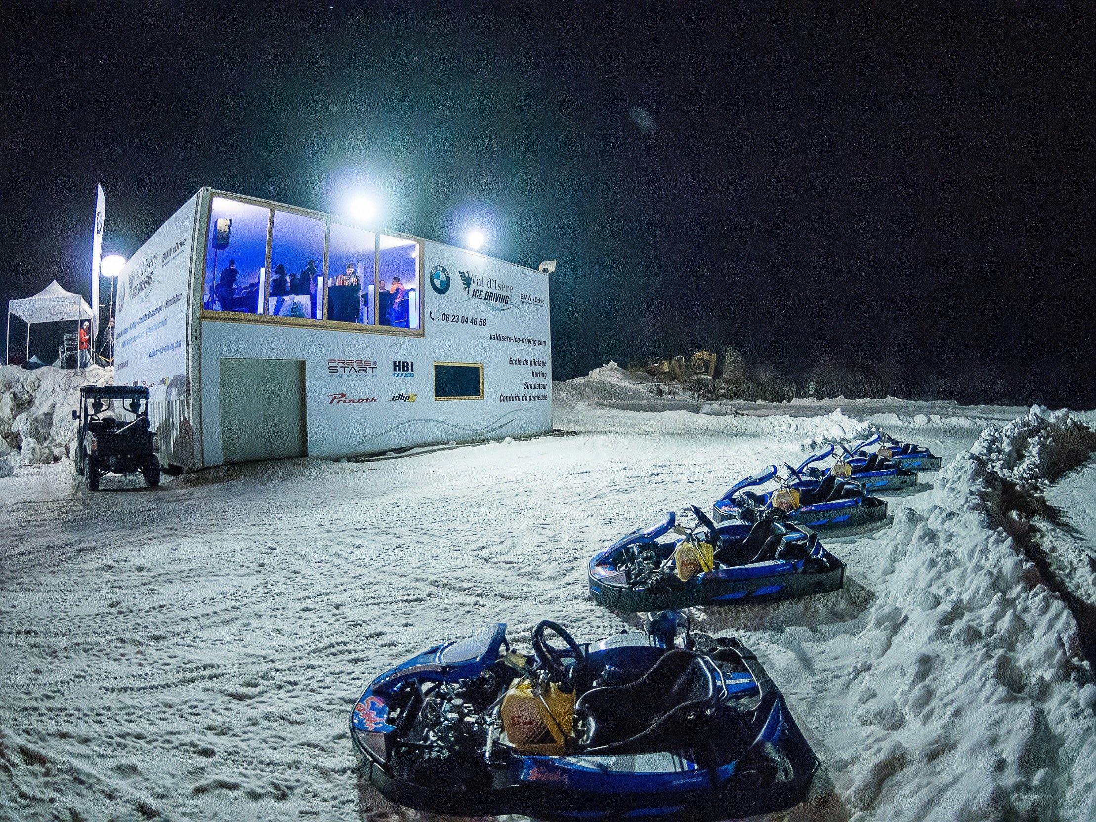 Circuit de Glace - Simulateur de conduite- val d'isère